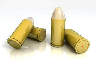 bullet isolated illustration