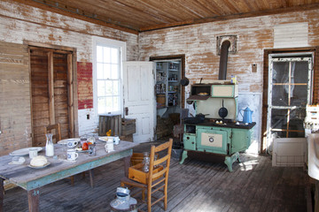 Replica of a 1911 cook house