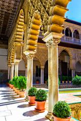 Patio de las Doncellas in Alcazar of Seville