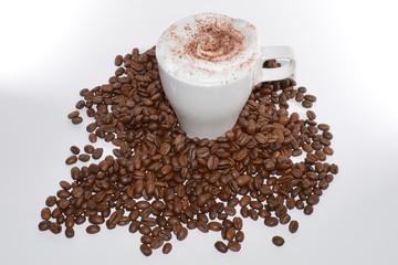 Kaffe mit Arabica Bohnen