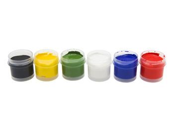 Multicolored paints