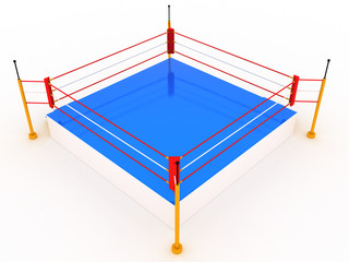 Empty boxing ring #4