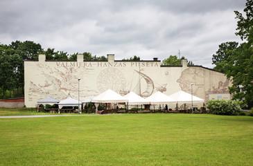 Mural in Valmiera. Latvia