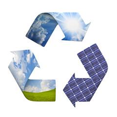 simbolo ciclo eco-energia