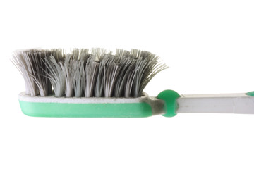 Worn Out Toothbrush