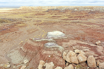 Painted Desert in the Winter