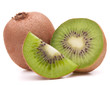 Sliced kiwi fruit segment
