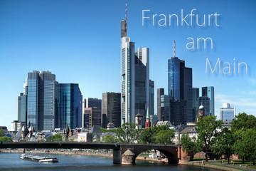 postkarte frankfurt