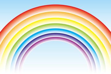虹色の壁紙(円形)