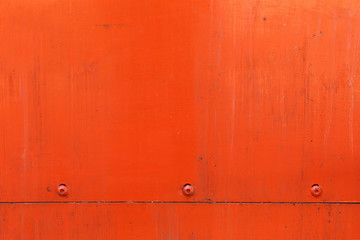 orange metal plate background