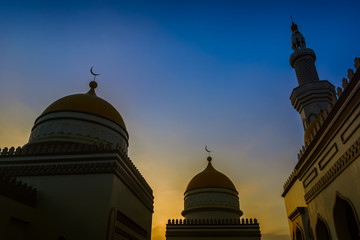 Grand Mosque Sunset