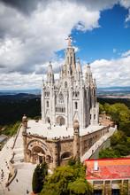 Najświętszego Serca. Barcelona, Hiszpania