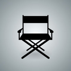 Directors chair illustration