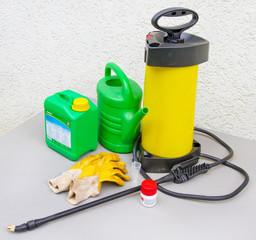 Werkzeug zum Spritzmittel ausbringen