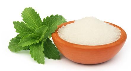Stevia with sugar