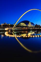 Gateshead Moonlit Evening
