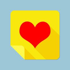 Notepad Heart