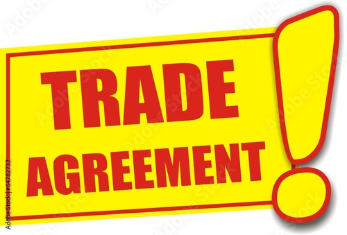 étiquette trade agreement