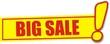 étiquette big sale