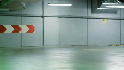 Breakdancer in the garage