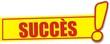 étiquette succès