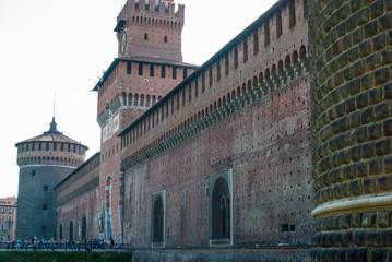 Castello Sforzesco e Torre del Filarete, Milano