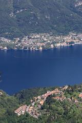 lago di Como dal monte Bolettone