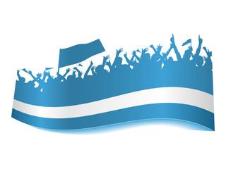 Public Viewing Schild - Argentienien