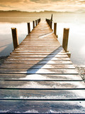 Fototapeta Kitchen - wooden jetty (75) © 1stGallery
