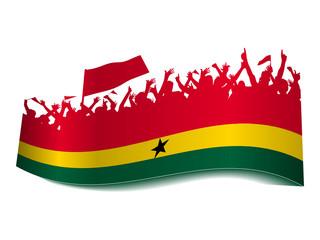 2014 Gruppen Schild - Ghana