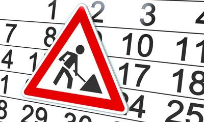 Baustelle Datum