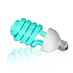 Fluorescent light dove