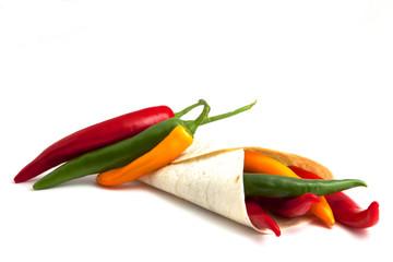 Chilis und Wrap