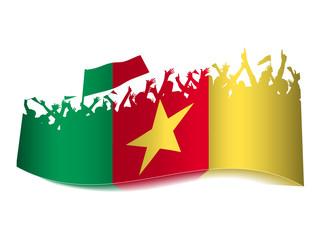 2014 Gruppen Schild - Kamerun