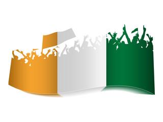 2014 Gruppen Schild - Elfenbeinküste