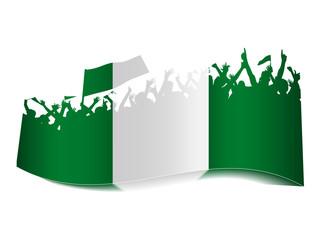 2014 Gruppen Schild - Nigeria