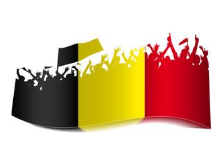 2014 Gruppen Schild - Belgien