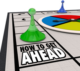 How to Get Ahead Board Game Advance Career Move Forward