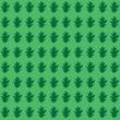 Oak Leaf Background - Seamless