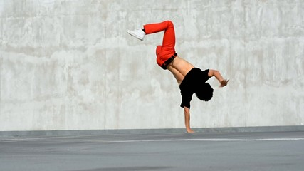 Breakdancer in the parking, best breakdancer