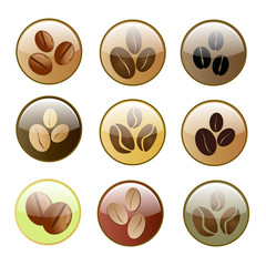 Coffee icon set.Illustration eps10