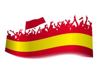 2014 Gruppen Schild - Spanien
