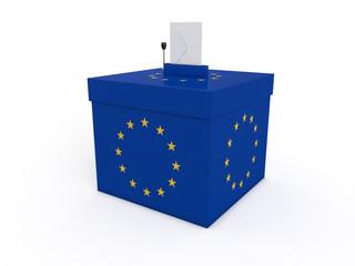 Urne élections européenne