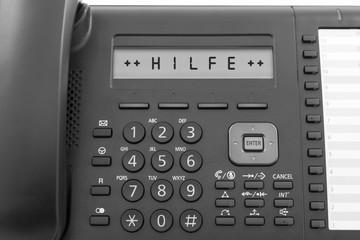Telefon Hilfe © Matthias Buehner