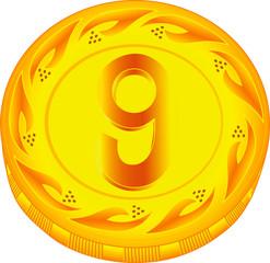 Coin nine