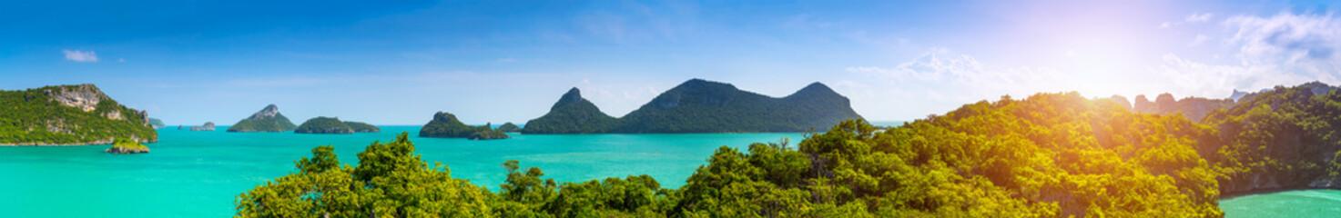 Thailand panorama.