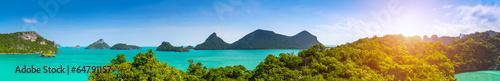 mata magnetyczna Tajlandia panorama.