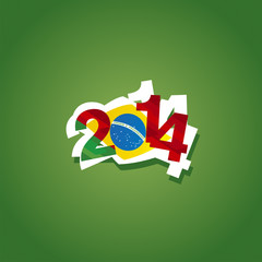 Portugal in Brazil 2014 vector