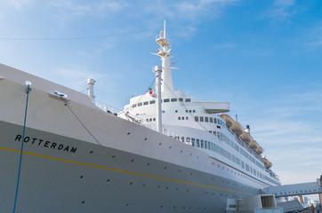passenger ship in Rotterdam