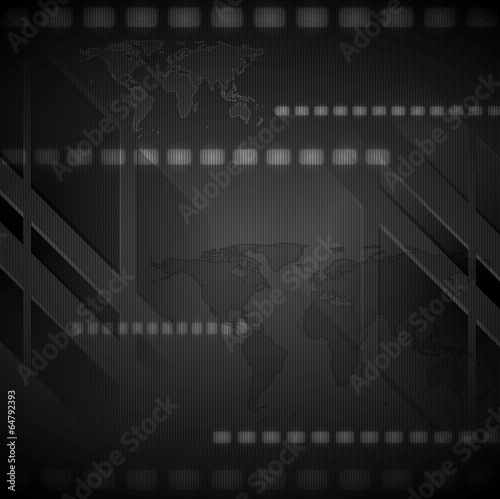 Dark hi-tech vector background